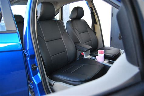 2011 ford fusion se seat covers ford focus 2009 2011 leather like custom fit seat cover ebay
