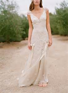 claire pettibone simple country wedding dress sang maestro