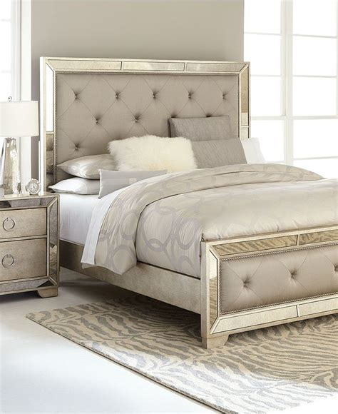 Macys Mirrored Furniture by Ailey Bedroom Furniture Collection