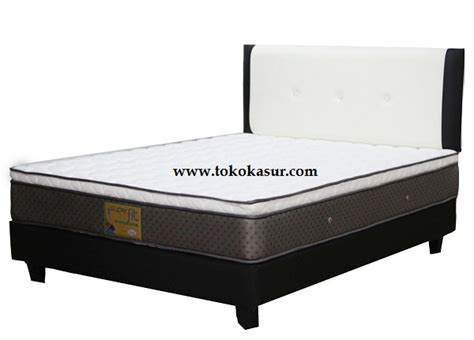 Kasur Alga Platinum comforta fit platinum plush top toko kasur bed murah simpati furniture