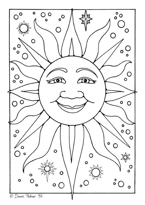 printable coloring pages sun free coloring pages of sun mandalas