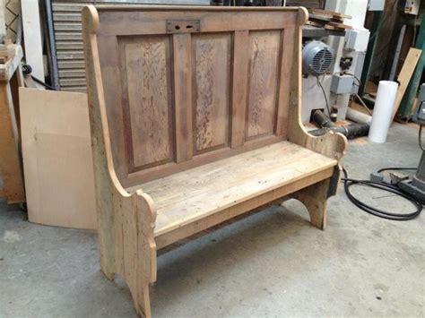 door bench rustic bench made from old door benches pinterest