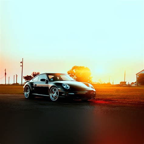 wallpaper macbook car ar43 porche art sunset nature supercar