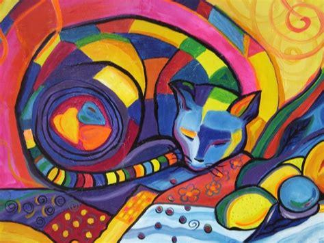 imagenes figurativas realistas famosas cuadros grandes pinturas frida kahlo gatos naif en oferta