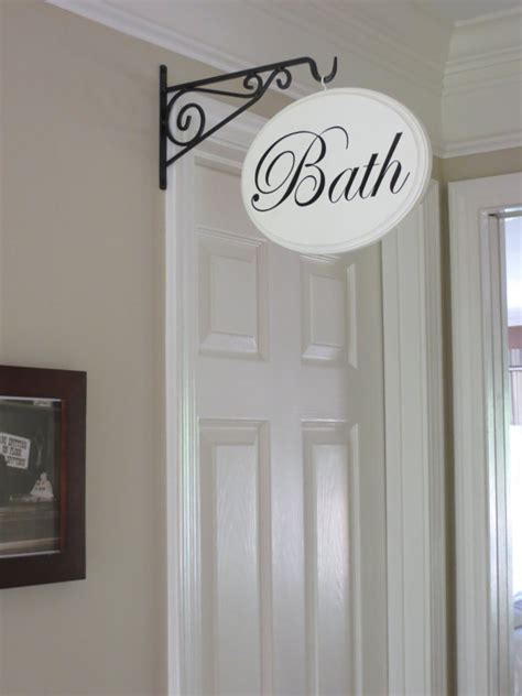 top 28 shabby chic bathroom signs blue shabby chic bathroom hanging wall door sign 163 3 84