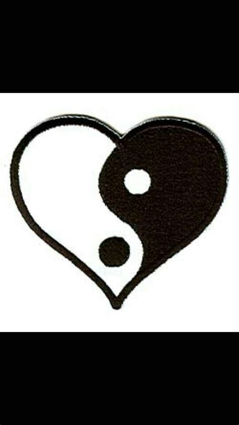 ying yang heart pictures to pin on pinterest tattooskid 1000 images about ying yang on pinterest ying yang