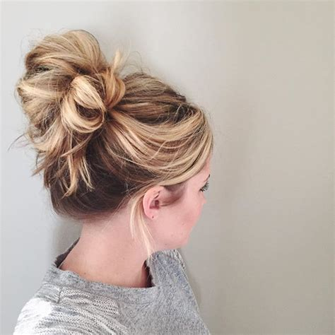 hairstyles buns messy pinterest zozzza h a i r pinterest love your