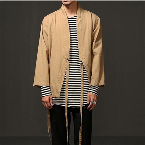 Promo Tshirt Kimono Murah kanye west kimono shirt jacket black hip hop