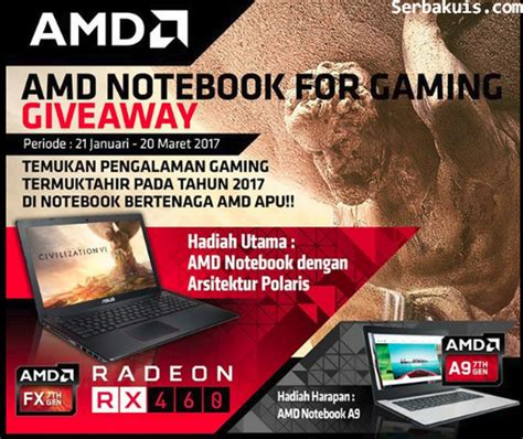 Amd Giveaway - amd notebook for gaming giveaway