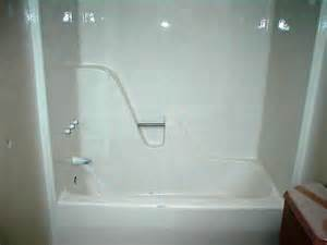 Fiberglass Bathtub Surround Fiberglass Tub After Refinish From Carolina Bath