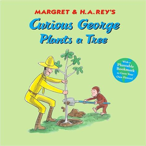 curious george va a curious george plants a tree by h a rey paperback barnes noble 174