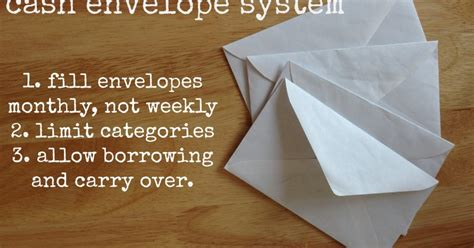 how we re the envelope system work for us