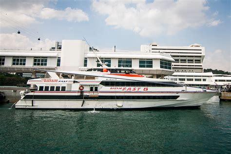 ferry ke batam jadwal dan harga kapal batam fast ferry rute singapura