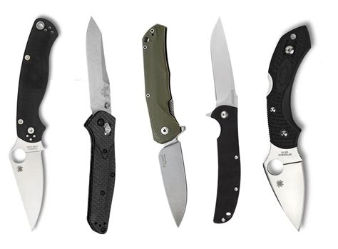 knives pocket folding knife junkie 5 favorite folding blades for edc