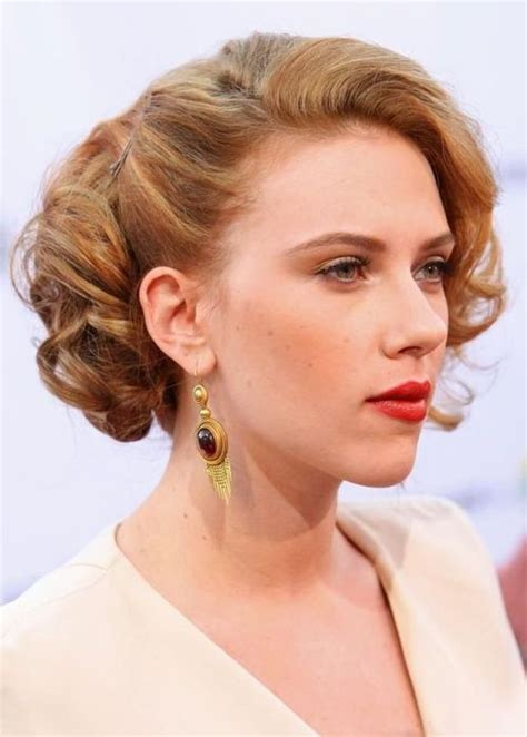 scarlett o hara hairstyle top 50 hairstyles for heart shaped faces herinterest com