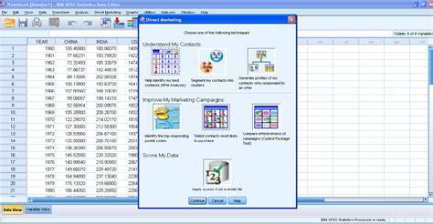 ibm spss tutorial pdf ibm spss statistics synergy business intelligence
