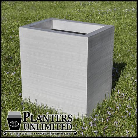 Aluminium Planter Boxes by Large Aluminum Pots Planter Boxes Planters