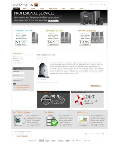 template joomla hosting joomla hosting joomla hosting template