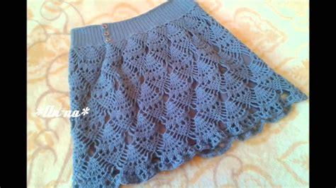 faldas de crochet para nina faldas para ni 241 as a crochet youtube