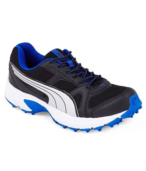 buy falcon royal blue and black sport shoes for
