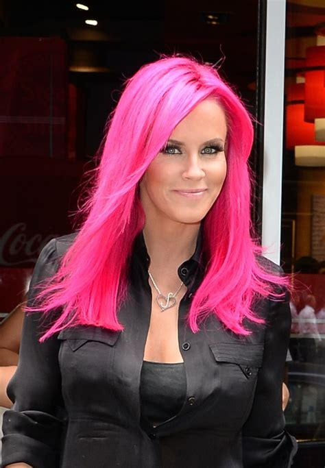 jenny mccarthys most recent haircolor tag archive for quot jenny mccarthy quot daily dish