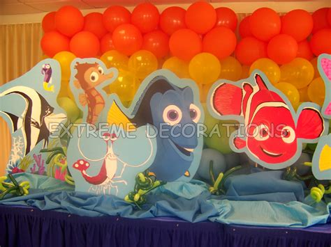 Nemo Decorations by Decorations Miami Balloon Sculptures