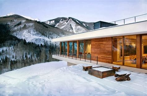 Mountainside House Plans by Planos Y Dise 241 O De Casa Moderna Especial Para Climas Fr 237 Os