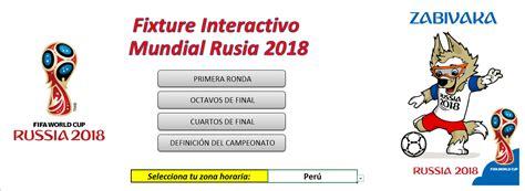 resultados mundial rusia 2018 descarga en excel fixture mundial rusia 2018