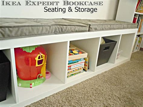 hack storage ikea hack expedit bookcase life a little brighter