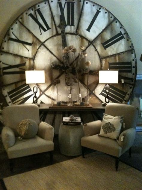 Oversized Home Decor | oversized clock