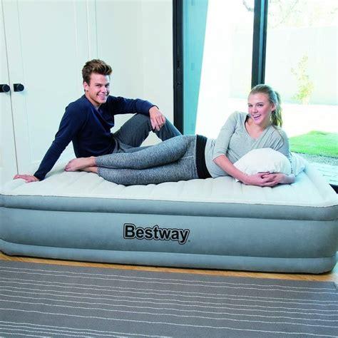 Kasur Intex air mattresses intex take along air mattress bestway flocked air bed cing mattress