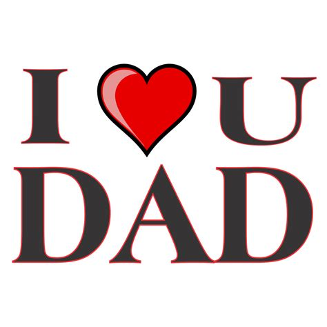 images of love you dad himt home
