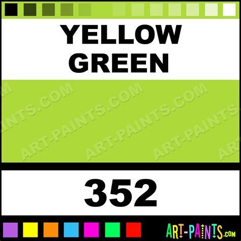 yellow green artist paints 352 yellow green paint yellow green color georgian artist