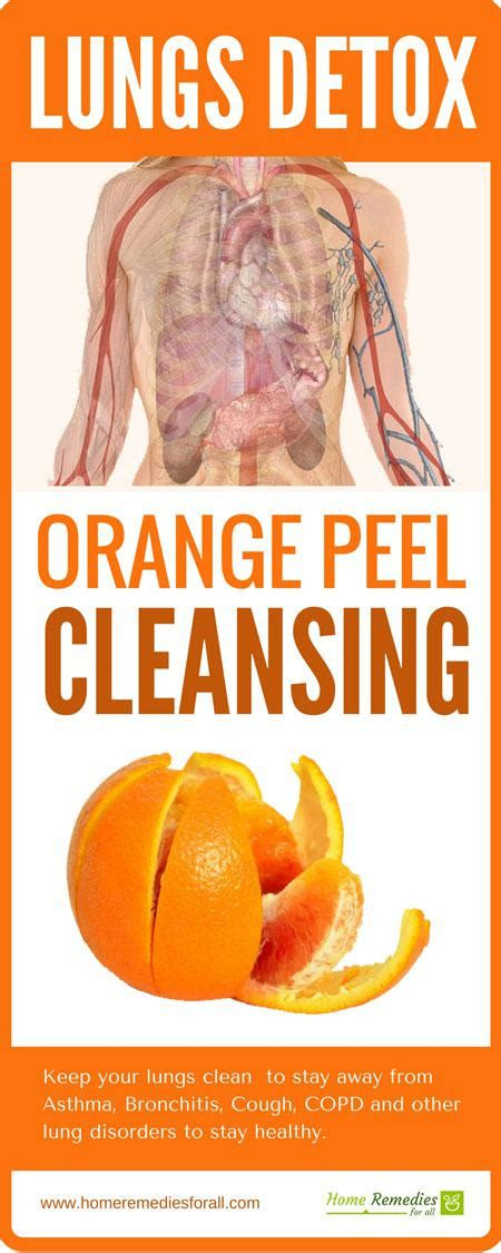 Lung Detox by Lung Detox Cleansing Of Lungs With Orange Peel