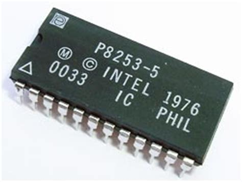Mc14049bcp p8253 5 programmable interval timer ic intel