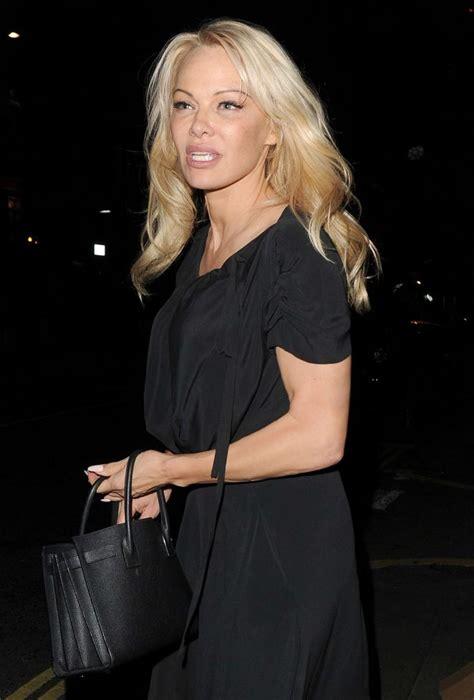 Charlotte Moss pamela anderson leaving at frontline nightclub in london