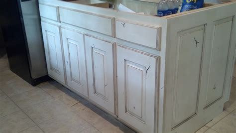 how to distress white kitchen cabinets how to paint kitchen cabinets distressed white all home