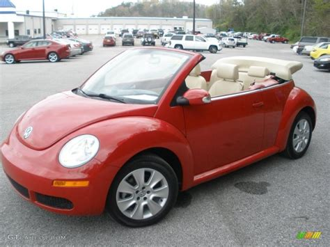 volkswagen new beetle red salsa red 2008 volkswagen new beetle s convertible