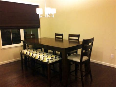 Upholstering Dining Room Chairs diy upholstering dining chair cheapest house on the block
