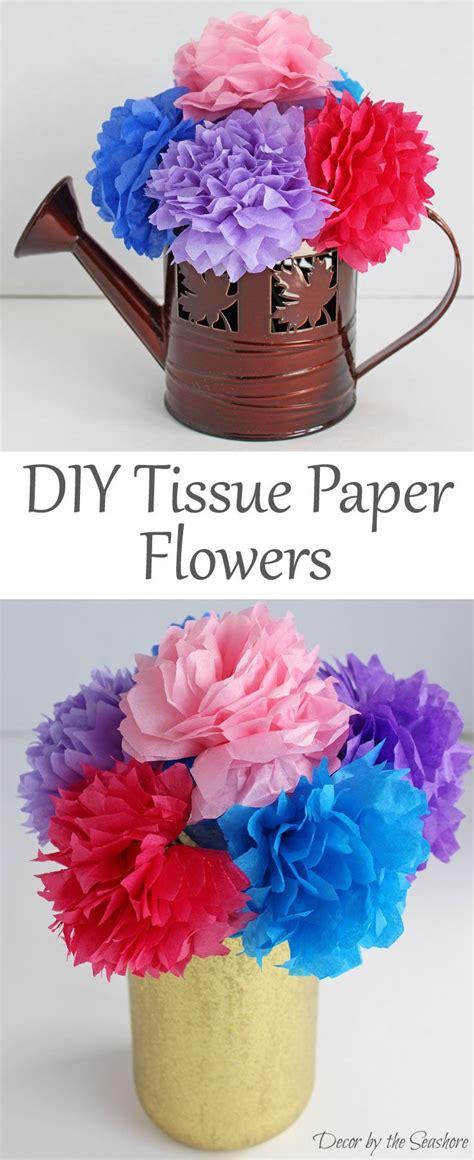 tutorial tissue paper flower diy tissue paper flowers tutorial tissue paper flowers