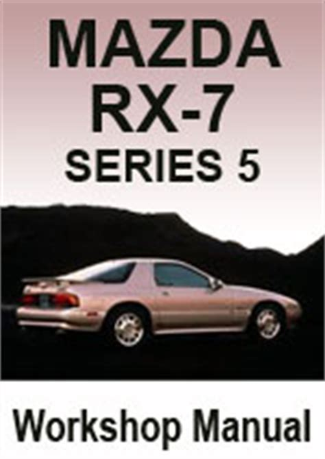 hayes auto repair manual 1989 mazda rx 7 electronic throttle control mazda rx 7 series 5 1989 91 workshop repair manual