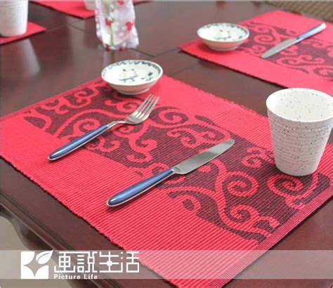 dining room table placemats fashion fabric dining table mat cloud placemats