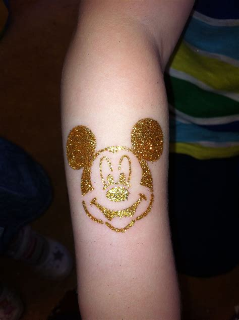 are henna tattoos permanent mickey mouse glitter by lionhearts if