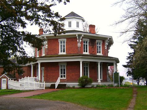octagon house octagon houses in the united states