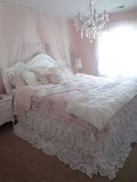 not so shabby shabby chic my new ruffly bedding wend
