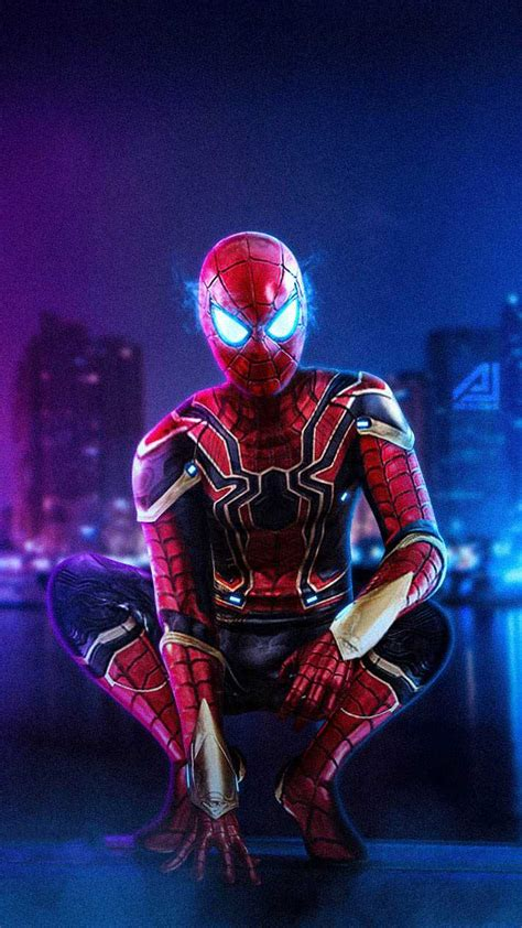 iron spider armor iphone wallpaper iphone wallpapers