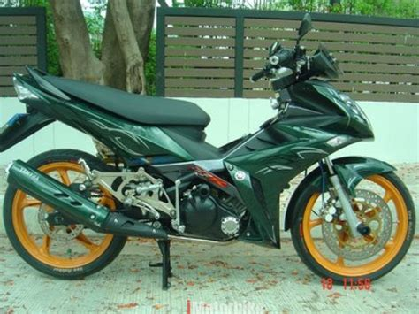 Kunci Motor Lc convert 135lc to yamaha x1r fully blue fairings work motosikal imotorbike malaysia