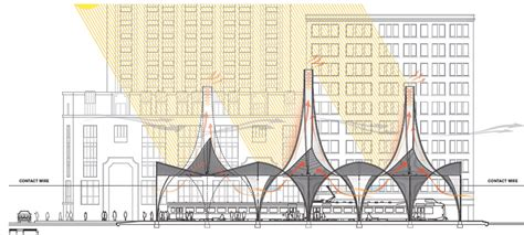 design competition houston gallery of downtown houston central station design