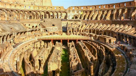 de roma el interior coliseo icono de roma