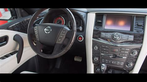 2016 Nissan Patrol Nismo Interior Youtube